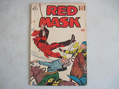 Red Mask #1 Iw Comics Reissue Western Frank Bolle Muley Pike Fred Guardineer
