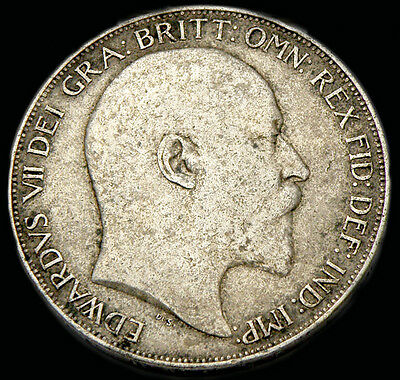 King Edward The Vii 1902  Silver Crown
