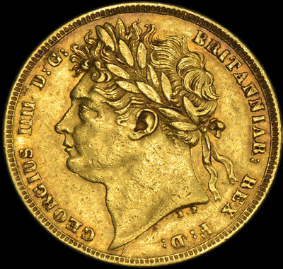 King George The Iiii 1822 Gold Sovereign