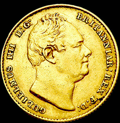 King William The Iv 1837 Gold Sovereign