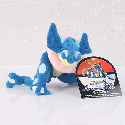 New Pokemon Center 6'' Plush Doll Greninja/Gekoga Stuffed Toy