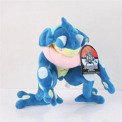 New Pokemon Center 12 inch Plush Doll Greninja / Gekoga Stuffed Toy Kids Gift