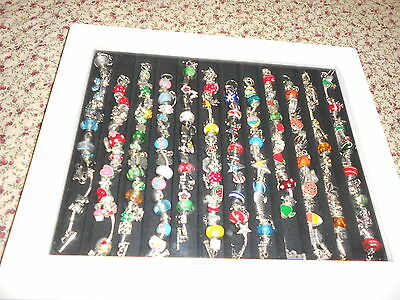 willowby and ward 12 month bracelets and display case
