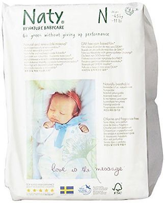 Naty by Nature BabyCare - Naty Eco Couche Ecologique pour [243834] [White] NEUF