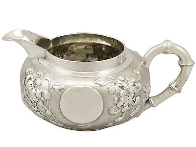 Antique Chinese Export Silver Cream Jug, 1900s