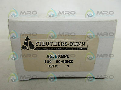 Struthers-Dunn 255Bxbpl Relay 120V *new In Box*