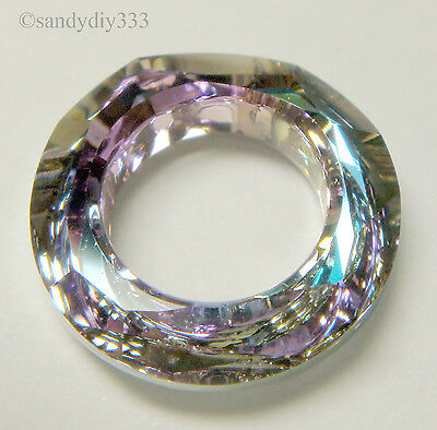 7fb0f37ab4a1d 1X SWAROVSKI 4139 GOLDEN SHADOW COSMIC RING FRAME CRYSTAL 14mm ...