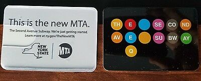 Rare Metrocard holder 2nd ave subway. NYC . Very Rare.Unused condition