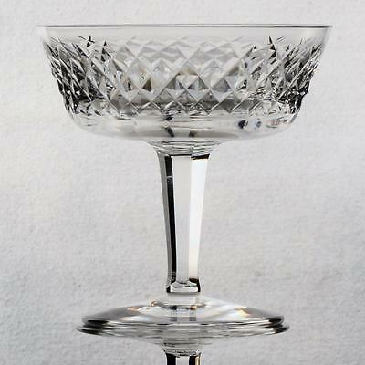 Set Of 7 Waterford Alana Crystal Champagne/ Tall Sherbet Glasses