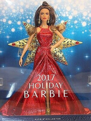 2017 HOLIDAY Hispanic Barbie Doll IN STOCK NOW!