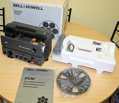 Bell & Howell DCM Filmosonic 8mm Projector **Free Postage**
