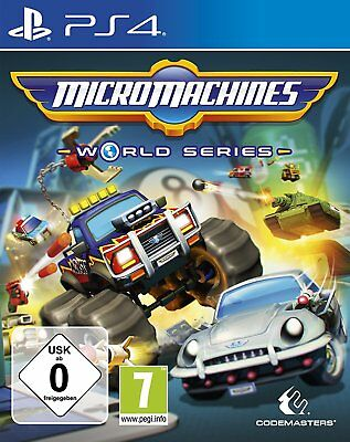 Micro Machines - World Series     PS4      Playstation 4     !!!!! NEU+OVP !!!!!