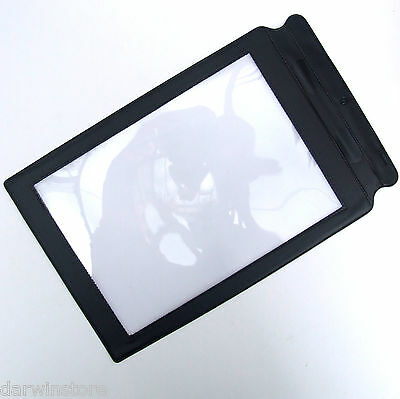 Full Page A4 Magnifier Sheet Large Magnifying Glass reading