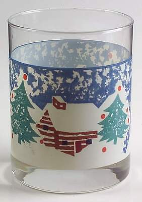 Tienshan CABIN IN THE SNOW 10 Oz Double Old Fashioned Glass 5702727