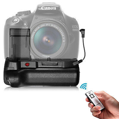 Neewer IR Remote Control Battery Grip Work with LP-E10 Battery for Canon 1100D