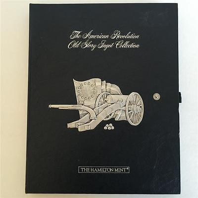 The American Revolution Old Glory  Pewter Ingot Collection Hamilton Mint