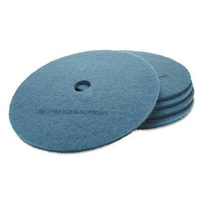 3M 20264 Ultra High-Speed Floor Burnishing Pads 3100, 27-Inch, Aqua