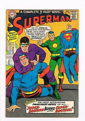 Superman # 200  Brother against Brother !  grade 4.0 scarce book !!