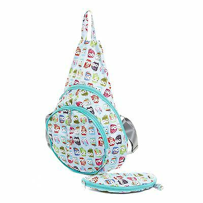 Very Lovely Bags Co. Folding Fold Away Backpack - Twit Twoo