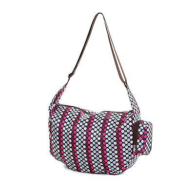 Very Lovely Bags Co. Folding Fold Away Slouch Bag - Lots o' Dots