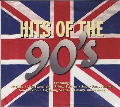 VARIOUS ARTISTS Hits of the 90's  3 CD BOX SET  NEW - NOT SEALED