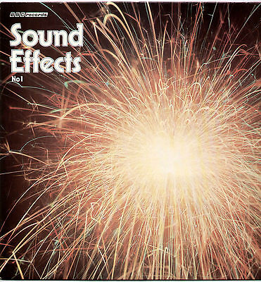 BBC SOUND EFFECTS No.1 ~ UK 18-TRACK MONO LP RECORD ~ BBC RED 47M [80s RE-ISSUE]