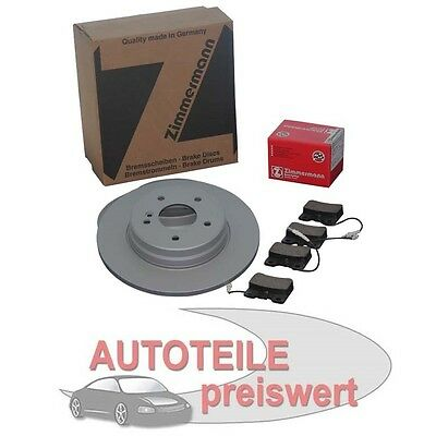 Zimmermann Dischi Freno 280mm Pastiglie Anteriori BMW Active Tourer Mini F55 F56