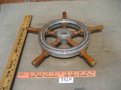 Ships wheel old antique From Chris-craft boat cable and drum type steering 892K