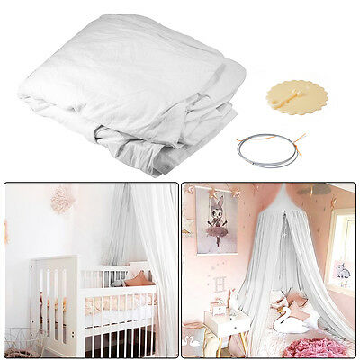 Canopy Bed Netting Mosquito Bedding Net Baby Kids Reading Play Tent Cotton HS882