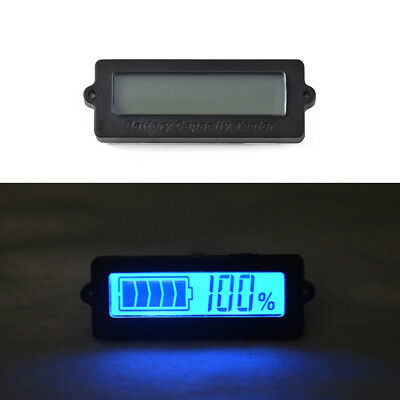 LY6 8V-63V Lithium Battery Capacity Tester 12V-48V Lead-acid Indicator BI665