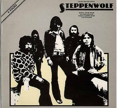 "Steppenwolf ~ Four Tracks From Steppenwolf ~ 1977 Uk 12"" Single ~ Abc Abe 12008"