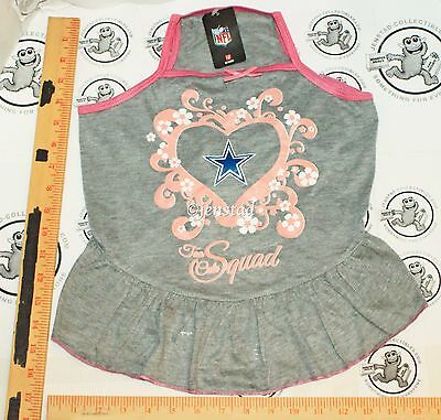 Dallas Cowboys Nfl Dog L - Pet Squad Jersey Tee Heart Pink Gray Dress Large 2015  sc 1 st  PicClick & LARGE DALLAS COWBOYS #1 Pup Tent Pet Bed/ Cat Bed/ Dog Bed/ Toy Box ...