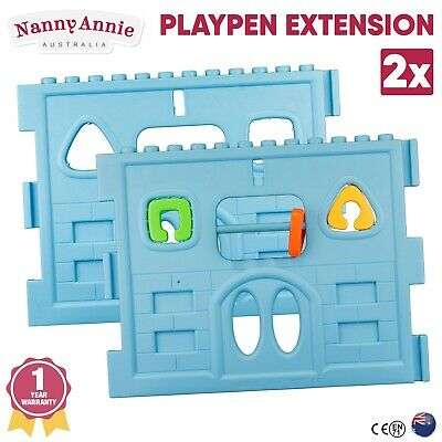 Baby Playpen 2 Panel Extension for Interactive Baby Play Room