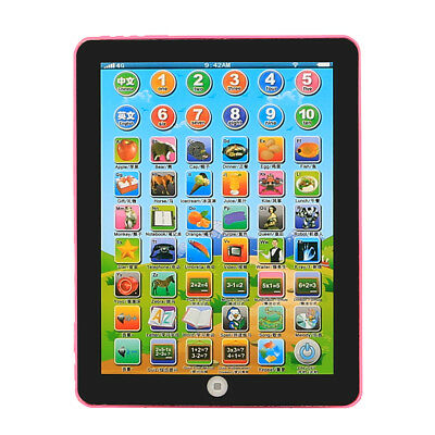 Simulating Tablet Pad Computer for Kids Children English Learning Teaching Toy