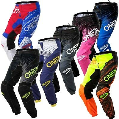 Oneal Element Kids MX Dirtbike Motorbike Riding Pants 2018 Size 18-28inches