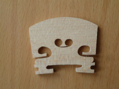 3/4 Maple Crafted Violin Bridge Cheapest UK Stock On Ebay
