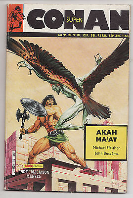 SUPER CONAN N°10 juillet 1986 AKAH MA'AT