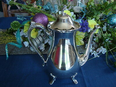 International 1847 Rogers Bros REFLECTION COFFEE POT    #9201