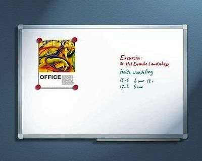 Magnetic Dry Wipe White Board Dry Eraser Notice Whiteboard 600 x 400mm Office