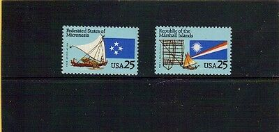 #2506-07 -Micronesia & Marshall Islands- US Mint Stamps