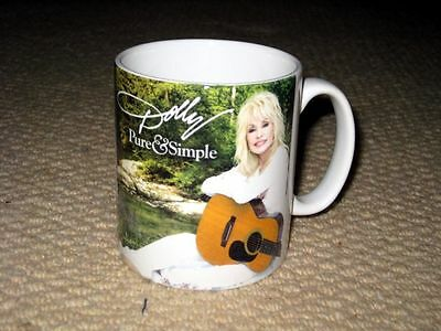 Dolly Parton Pure and Simple Advertising MUG