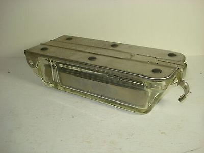 Vintage Pyrex Trademark B-P Sterilization Tray With Insert Sealed Lid