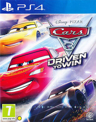Sony PS4 Playstation 4 Spiel ***** Cars 3 Driven to Win *****************NEU*NEW