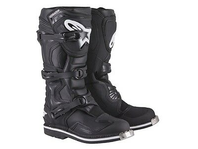 Alpinestars Tech 1 MX Boots schwarz Cross / Enduro Stiefel Gr. 8 / 42