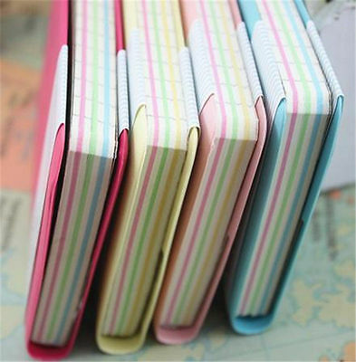 Portable Mini Color Paper Cute Smile Smiley Diray NoteBook Memo Book Best Gift