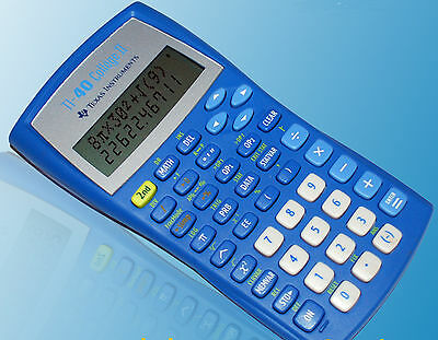 TEXAS INSTRUMENTS TI-40 Collège II Calculatrice + grnti
