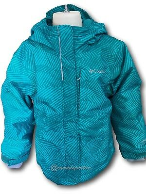 New Columbia girls Mt Mandi Omni Heat waterproof Outgrown winter coat Green