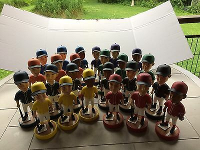 Plain Baseball Figure Bobble Heads With Different Uniforms { Novelty Item } s