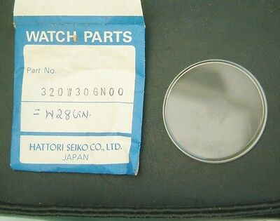 Nos Seiko Crystal Genuine Seiko part  320W30GN00 W28GN W18GN Brand New 6309