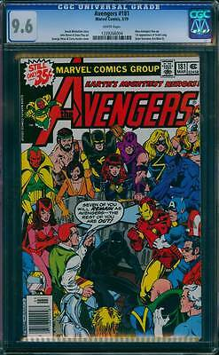 Avengers # 181  First app. Scott Lang, the New Ant-Man !  CGC 9.6 scarce book !